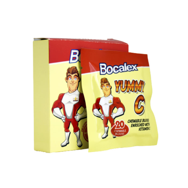 Bocalex Yummy C+ Chewable Blocks 3x20s