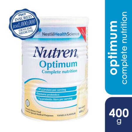 Nestle Nutren Optimum Vanilla 400g