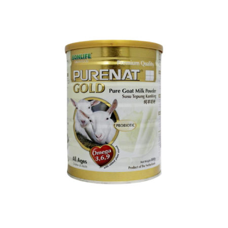 Purenat Gold Goat Milk Powder Probiotic 800g