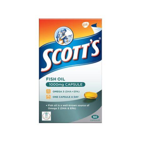 Scott's Fish Oil (1000mg X 60's)