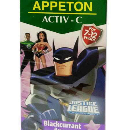 Appeton Activ-c 100mg Blackcurrant 60s