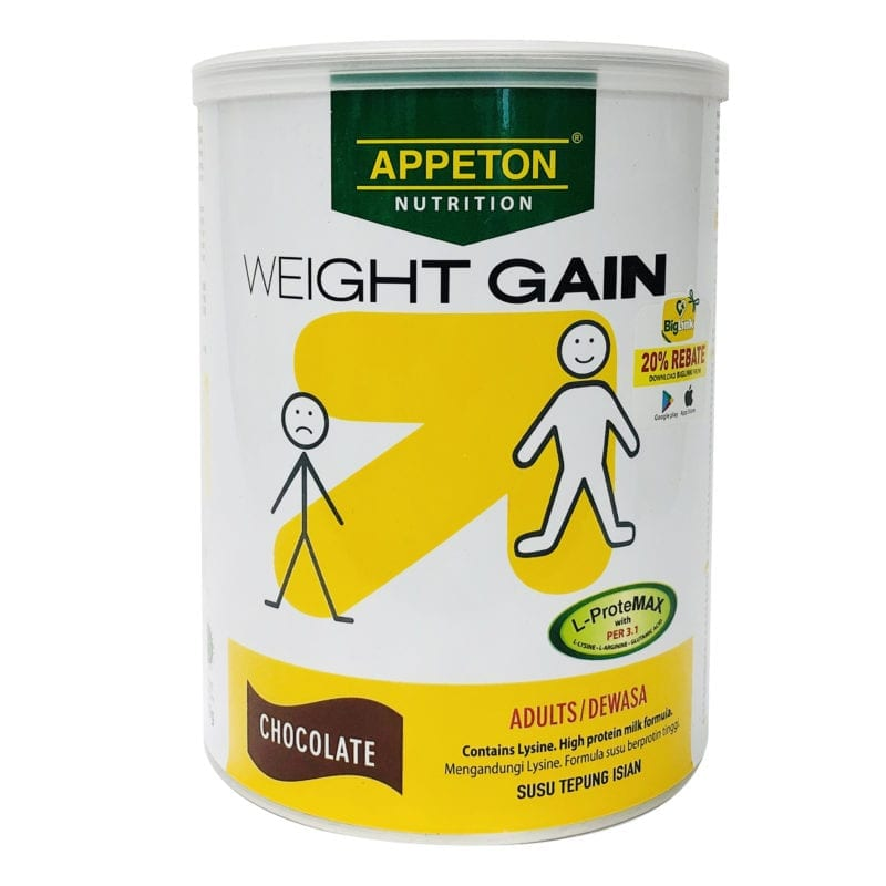 Appeton Weight Gain Adult Choco 450g