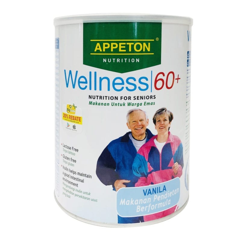 Appeton Wellness 60+ Energy Complex 900g