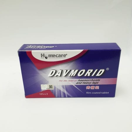 Davmorid Film Coated 3x10s