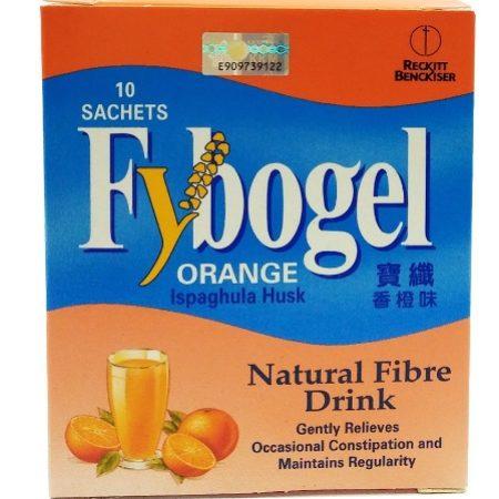 Fybogel Natural Fiber Drink - Orange (10s)