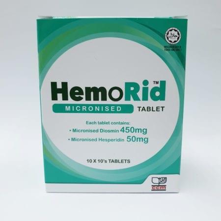 Hemorid 10x10s
