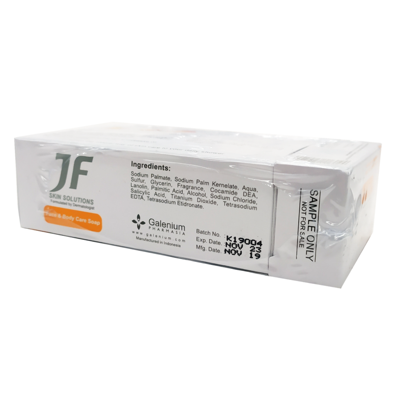 Jf Sulfur Soap 10% 100g