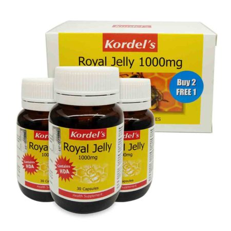 Kordel's Royal Jelly 1000 (30s X 3) Exp. Date: 07/2021