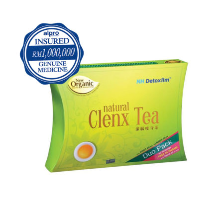 Nh Detoxlim Natural Clenx Tea (40s) [free 10s] Exp Date:12/2021
