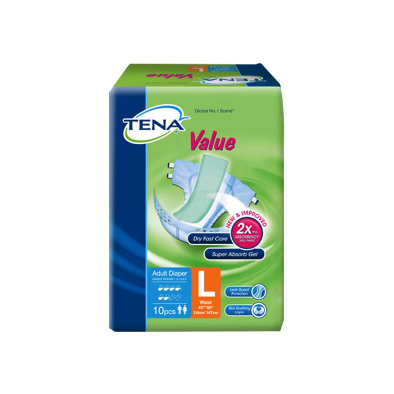 Tena Value Adult (l) 10s