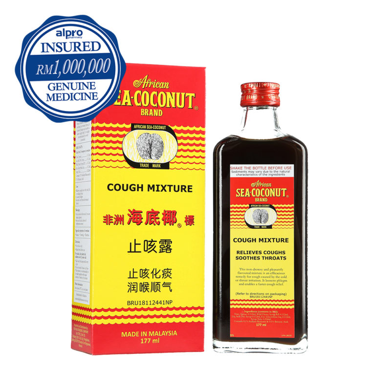 African Sea-coconut Cough Mixture (177ml)