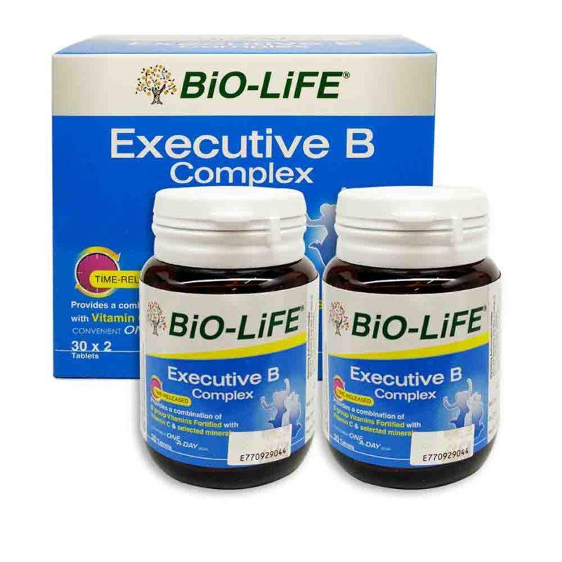 Bio-life Executive B Complex 2x30s