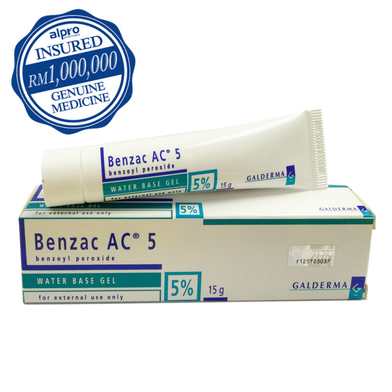 Benzac Ac 5% 15g