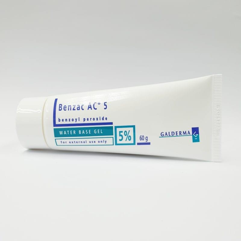 Benzac Ac 5% Water Base Gel