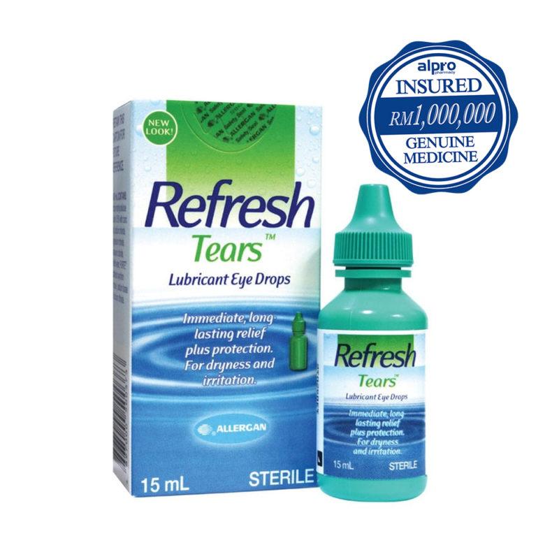 Allergan Refresh Tears Lubricant Eye Drops (15ml)