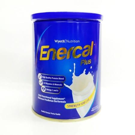 Wyeth Enercal Plus Vanilla 400g