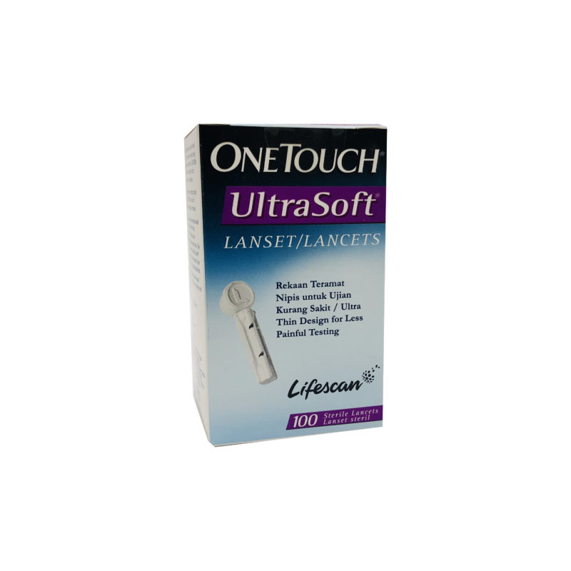 One Touch Ultra Soft Lancets 100s