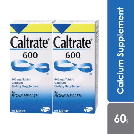 Caltrate 600 2x60s