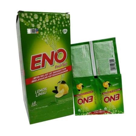 Eno Fruit Salt Lemon 4.3g 48x2s