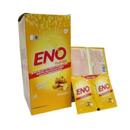 Eno Fruit Salt Ginger 4.3gm 48x2s