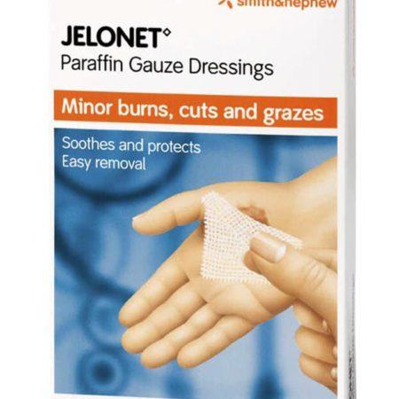 S&n Jelonet Paraffin Gauze Dressing 5cmx5cm 5s