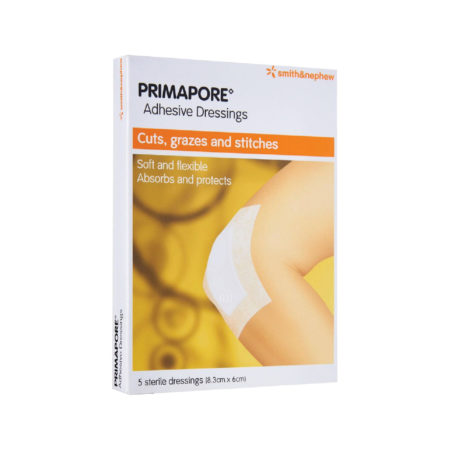 S&n Primapore Low Allergy Dressing Strips 8cmx1m 1s
