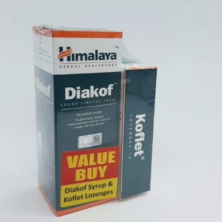 Himalaya Diakof Cough Linctus 100ml W/free