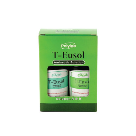 Polylab T-eusol A&b Antiseptic Solution 100ml 2s