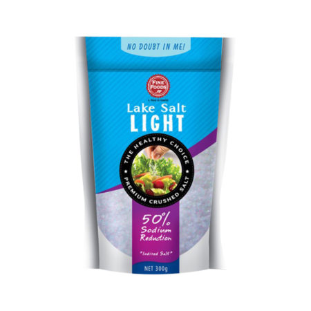 Fine Foods Lake Salt Light 300g