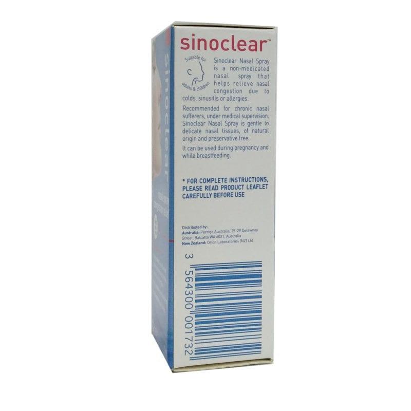 Sinoclear Nasal Spray 20ml