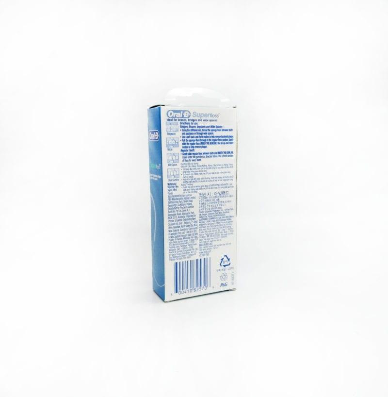 Oral B Superfloss Mint 50m