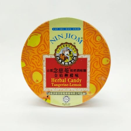 Nin Jiom Herbal Candy Tangerine Lemon 60g