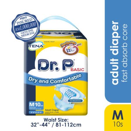 Dr.p Basic A/diaper (m) 10s