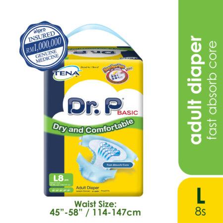 Dr.p Basic A/diaper (l) 8s