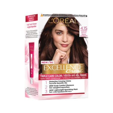 Loreal Excellence Creme Hair Dye-4.15