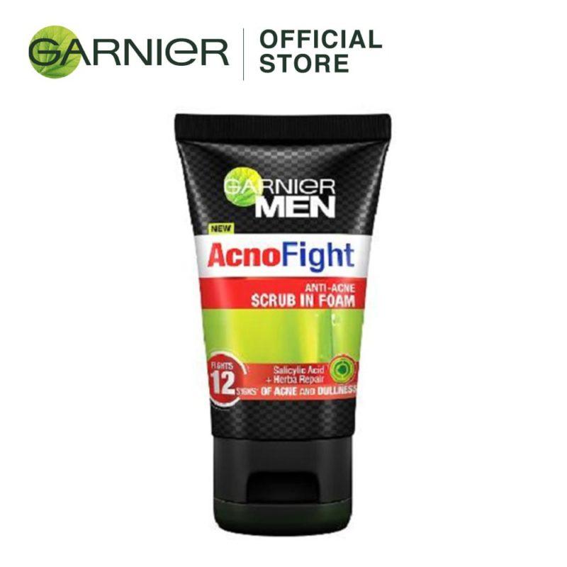 *garnier Men Acno Fight Anti Acne Foam 100ml