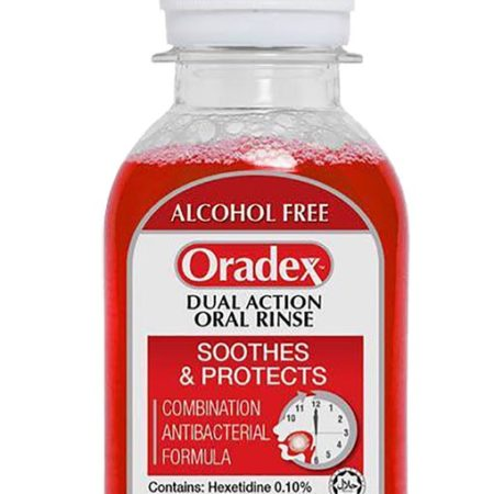 Oradex Dual Action Oral Rinse 90ml
