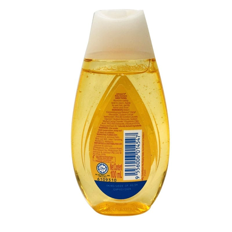 Johnsons Baby Shampoo 100ml (gold)