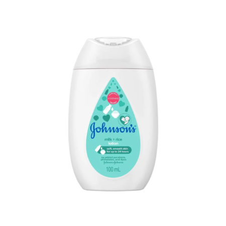 Johnsons Baby Milk + Rice Lotion 100ml