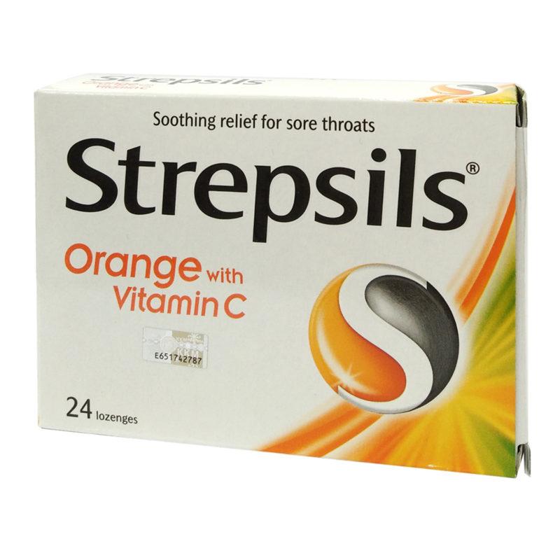 Strepsils Vit.c 100 24s