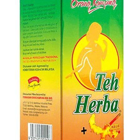 Orang Kampung Herba Tea&halia 3g 25s