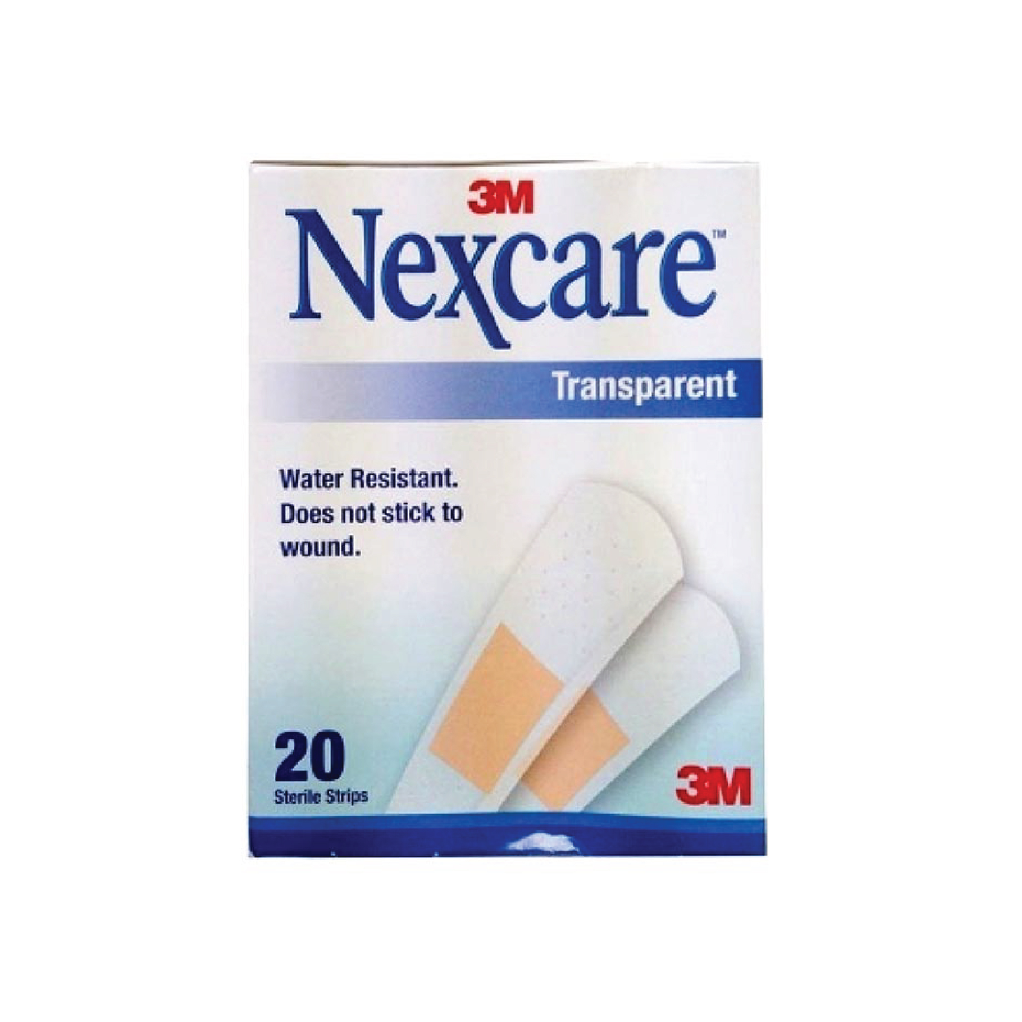 3m Nexcare Bandages Trans Strips 20
