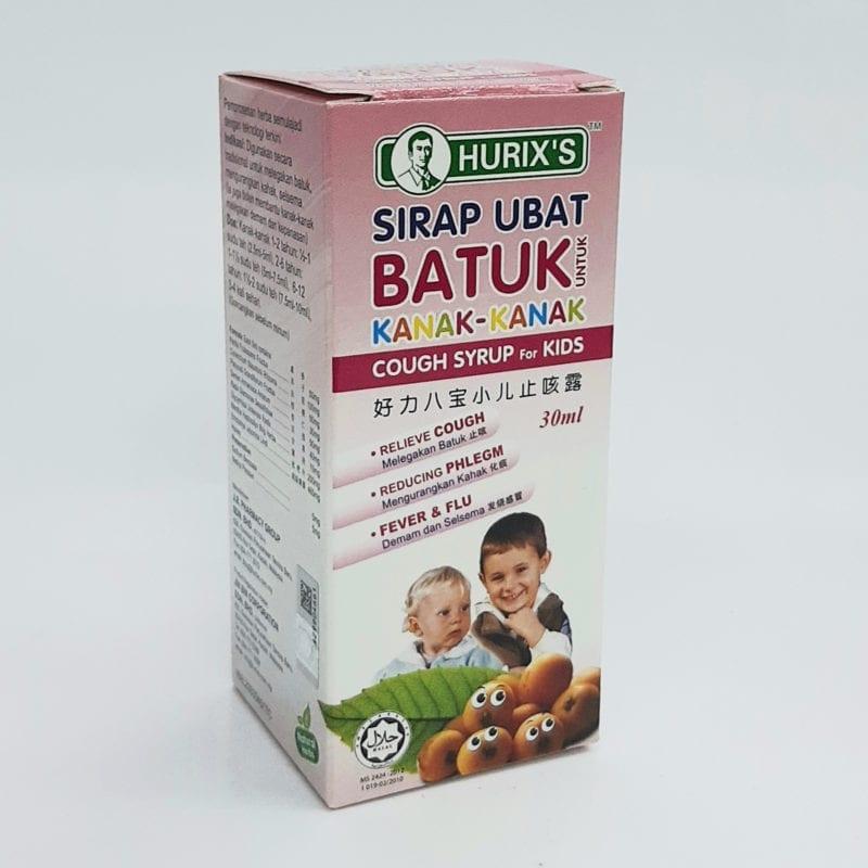 Hurixs Ubat Batuk Kanak-kanak 60ml
