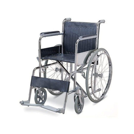 【40% OFF】Hospitech Chrome Standard Wheelchair / Kerusi Roda