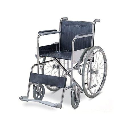 【40% OFF】Hospitech Chrome Standard Wheelchair / Kerusi Roda