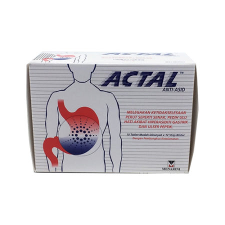 Actal Anti Acid (12s)