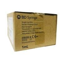 Bd Tuberculin Syringe 1ml (302100)ls 100s