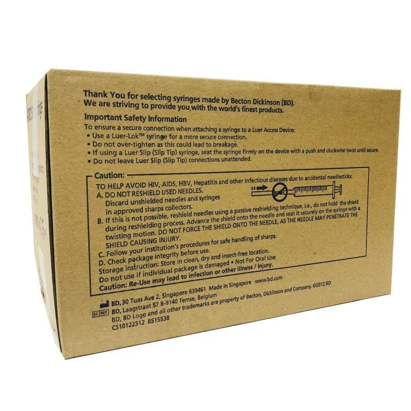Bd Syringe 5ml (302135)ll 100s