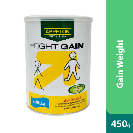 Appeton Weight Gain Adult Vanilla 450g