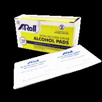 Aross Alcohol Pads 100s
